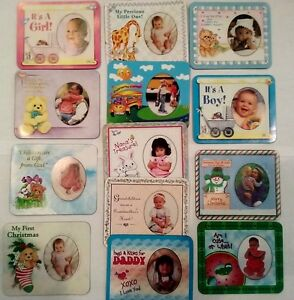 Kids Baby Magnetic Personalized Picture Frame Choose The One For