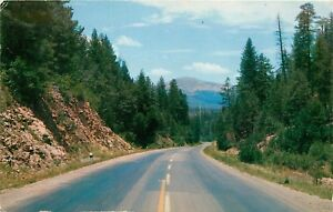 Dark-Canyon-US-70-Mescalero-Apache-Indian-Reservation-New-Mexico-NM-Postcard
