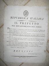 V458-PERIODO NAPOLEONICO-REP.ITALIANA MONETE 1802