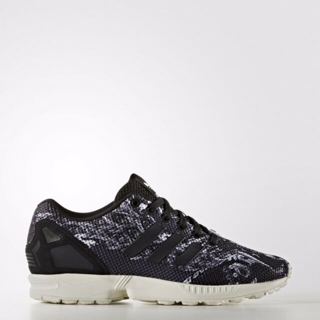 sports shoes 7bc05 db600 ADIDAS ORIGINALS ZX FLUX FARM RIO WOMEN S RUNNING SHOES SIZE US 7.5 BLACK  S76592