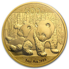 2010 1 oz Gold Chinese Panda Coin - Sealed in Plastic - SKU #56838