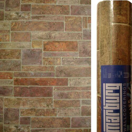 Papier Peint Feutre Mur de Pierre Marburg 50836 Maçonnerie Emballage D/'Origine