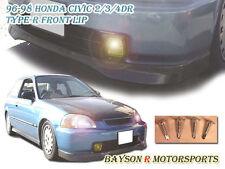TR-Style Front Lip (Urethane) Fits 96-98 Honda Civic 3dr