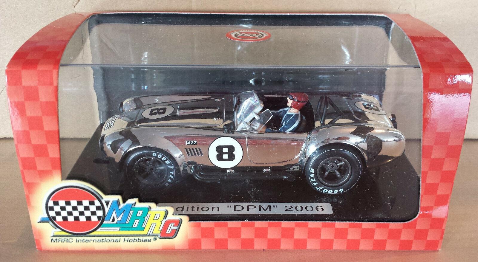 AC Shelby Cobra 427 Voiture Miniature 1 32  MRRC Slot Racing chrome   8  produits créatifs
