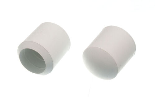 10 Pk Of  25mm White Rubber Chair Feet Ferrule Floor Protector Stick End Cover