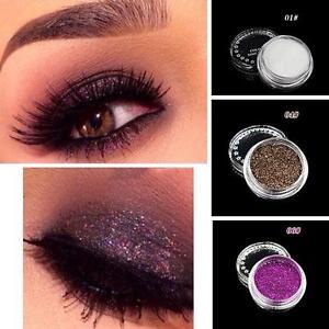 Pro Makeup Loose Powder Glitter Eyeshadow Beauty Eye Shadow ...