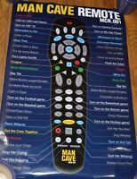 Wholesale Lot Of 10 Man Cave Remote Posters 24 X 36