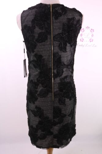 Karl Lagerfeld Paris Sleeveless Floral Lace Dress LD7O1047 Size 6 8 NWT