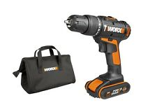 WORX WX366.6 18V (20V MAX) Cordless Combi Hammer Drill with x1 1.5Ah Batteries