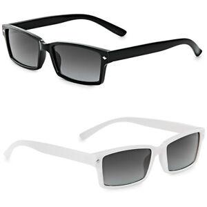 Klassische rechteckige Nerd Retro Slim Sonnenbrille Herren Damen Vintage Shades