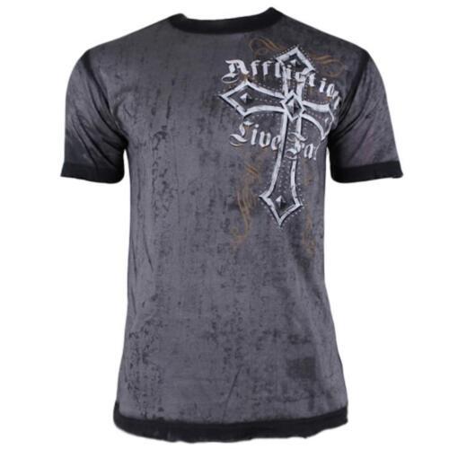 Affliction DISSOLVE A8062 Men/'s Short Sleeve T-shirt Tee
