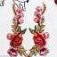 1-Pair-Rose-Flower-Applique-Badge-Embroidered-Iron-Sew-on-Floral-Patch-Dress-NEW thumbnail 9