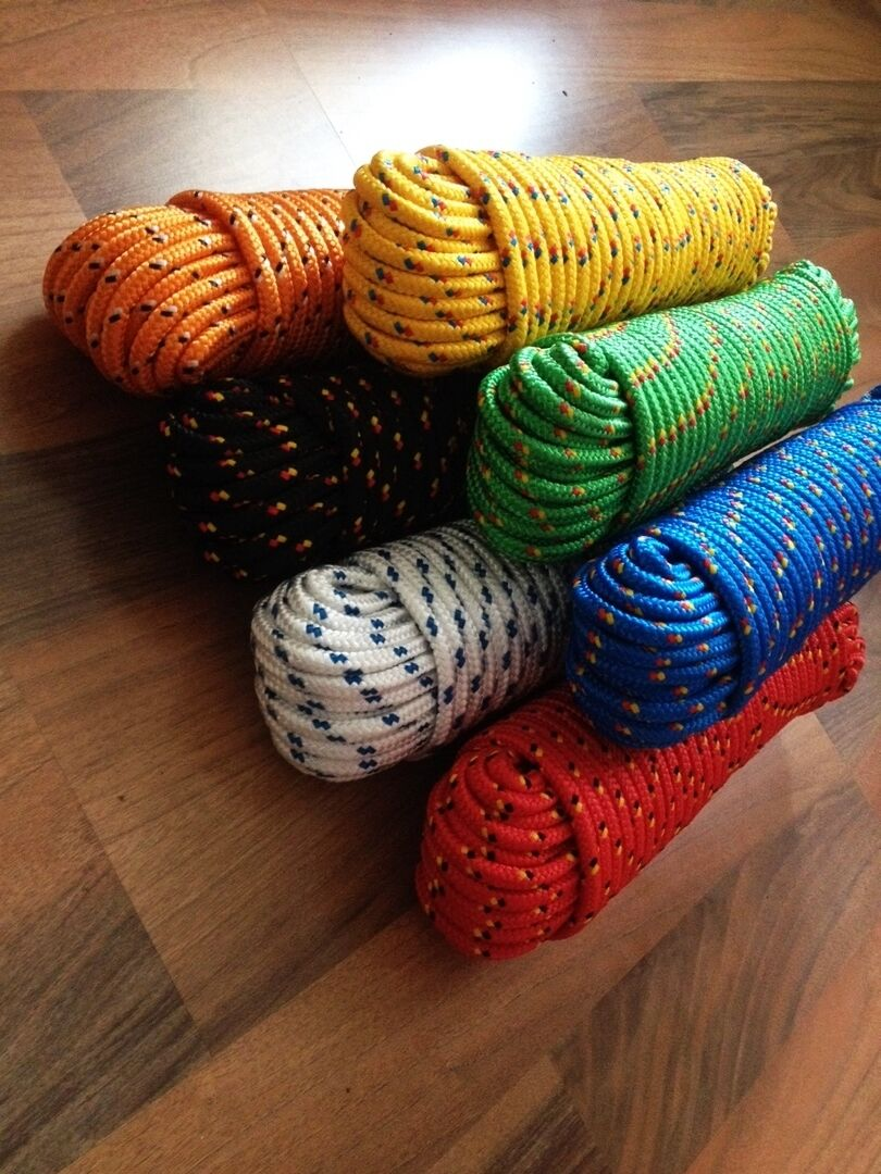 Ropes 4-16 mm,30m ,Polypropylene cord,Bootswains,Anchor Line,Mooring line,line,
