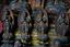 Japanese-Antique-Many-Mini-Buddha-Statues-in-A-Miniature-Shrine-Mid-Edo-Period thumbnail 7