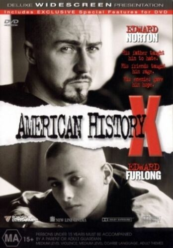 1 of 1 - American History X (DVD, 2000) Very Good- Disk like new.