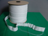 Gardinenband 10 Meter Weiß 33 Mm Breit