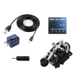 HF-Shortwave-Radio-Station-Morse-Code-CW-Trainer-Telegraph-Automatic-Key