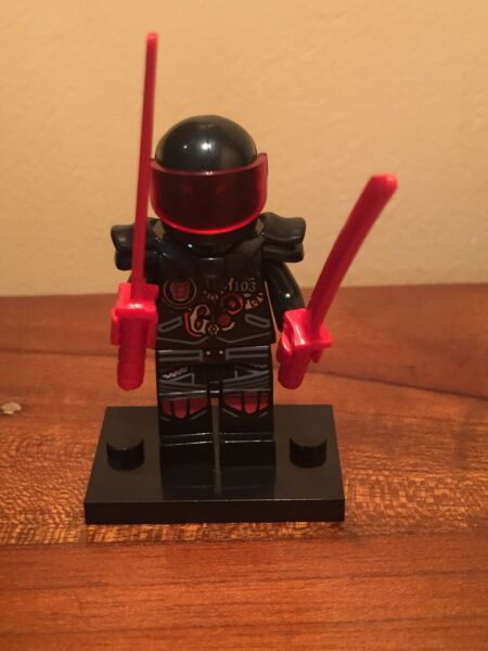 Confiant Type Lego Ninjago Monsieur E Fils De Garmadon Exquis (En) Finition