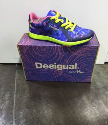 FW16 DESIGUAL GYM FITNESS SHOES GYM SHOES EVA T WOMAN 57DS1C6 4140