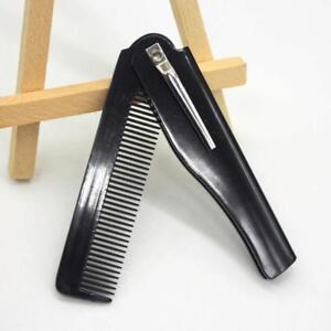 Men-Women-Handmade-Folding-Pocket-Clip-Hair-Moustache-Beard-Comb-Com-Pocket-M9C9