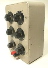Decade Resistance Box Tested Working 6 Dial With Range 1 To 100000 Ohm