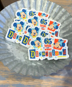 Disneyland-Resort-Exclusive-Mickey-and-Minnie-Mouse-65-Years-of-Magic-Magnet-New