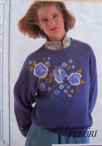 11//1985 § MODES ET TRAVAUX cahier tricot