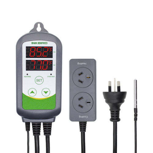 Inkbird AU PLUG ITC-308 Digital Temperature Controller Thermostat Switch 240V