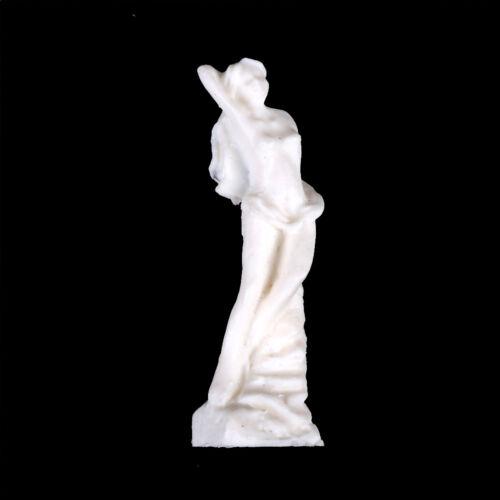 Miniature Dollhouse Accessorie Scene Model Resin Goddess Statue Toy Girl Gift ni