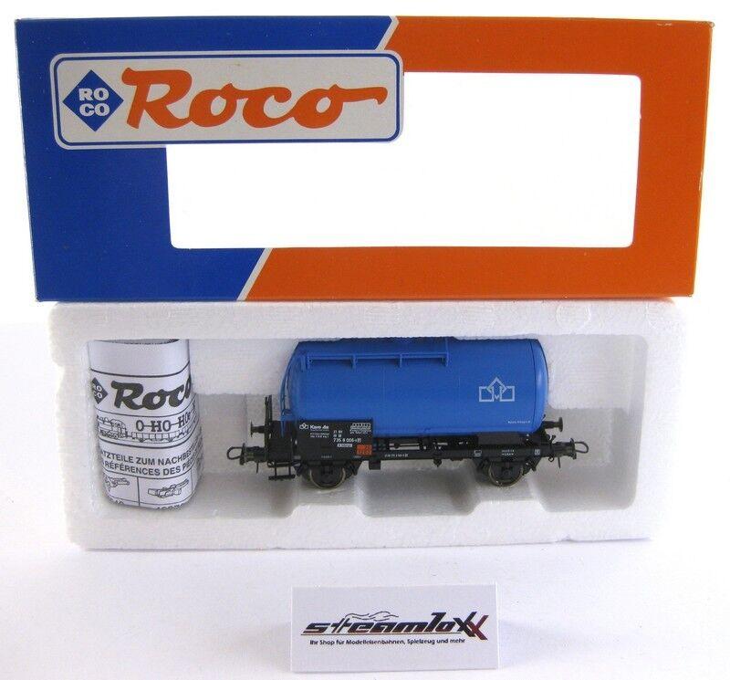 Roco 47064 H0  Güterwagen Kesselwagen Karo As der DB mit OVP X00001-17915  | Um Sowohl Die Qualität Der Zähigkeit Und Härte