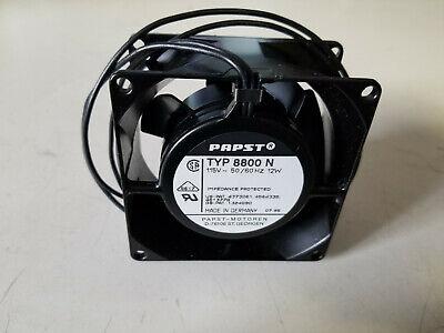 FAN TYP 4600 X 4600X Axial Fan 115VAC 119mmx119mmx38mm 106CFM PAPST