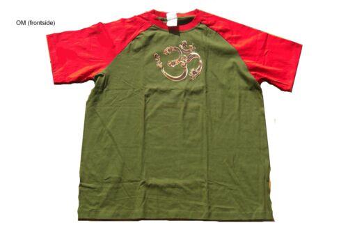 T shirt Buddha Chakra Om Ganesh Saraswathi Indien Inde Goa Psy Yoga ethno L XXL