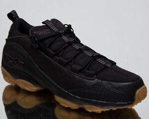 Reebok-DMX-Run-10-Gum-New-Men-039-s-Lifestyle-Shoes-Black-Coal-2018-Sneakers-CN3569