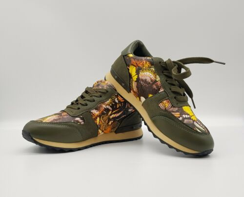 3-8 Floral Printed Women/'s TrainersUK Sizes