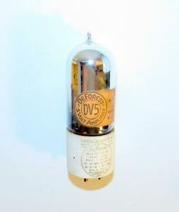 DeForest DV5 tipped amplifier vacuum tube (UV-201-A). TV-7 tests strong.