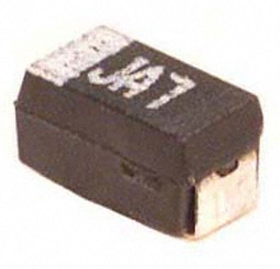 10 uF 6 V  Tantalum Electrolytic Capacitors, EIA 3216 Surface Mount Package