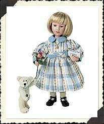 Boyds Bear Doll   Alexa with Bon Bon / letter chocolate  Mother's Day Nuovo