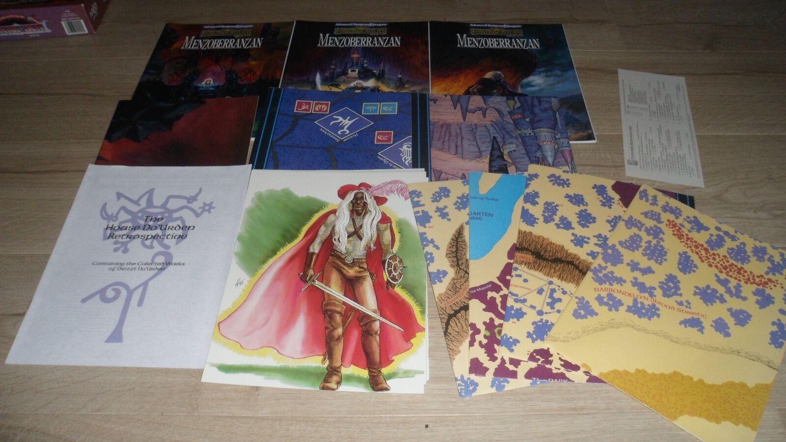 AD&D ADVANCED Dungeons & Dragons - MENZOBERRANZAN forgotten realms 1083 TBE