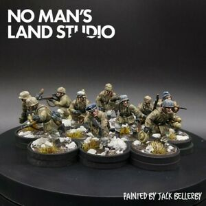 Pro-Painted-28mm-Bolt-Action-german-winter-Fallschirmjager-squad-10-ww2