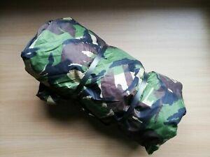 Genuine-GRADE-1-British-Army-Issue-DPM-Waterproof-Shelter-Basha-Tarp-8ft-x-7ft