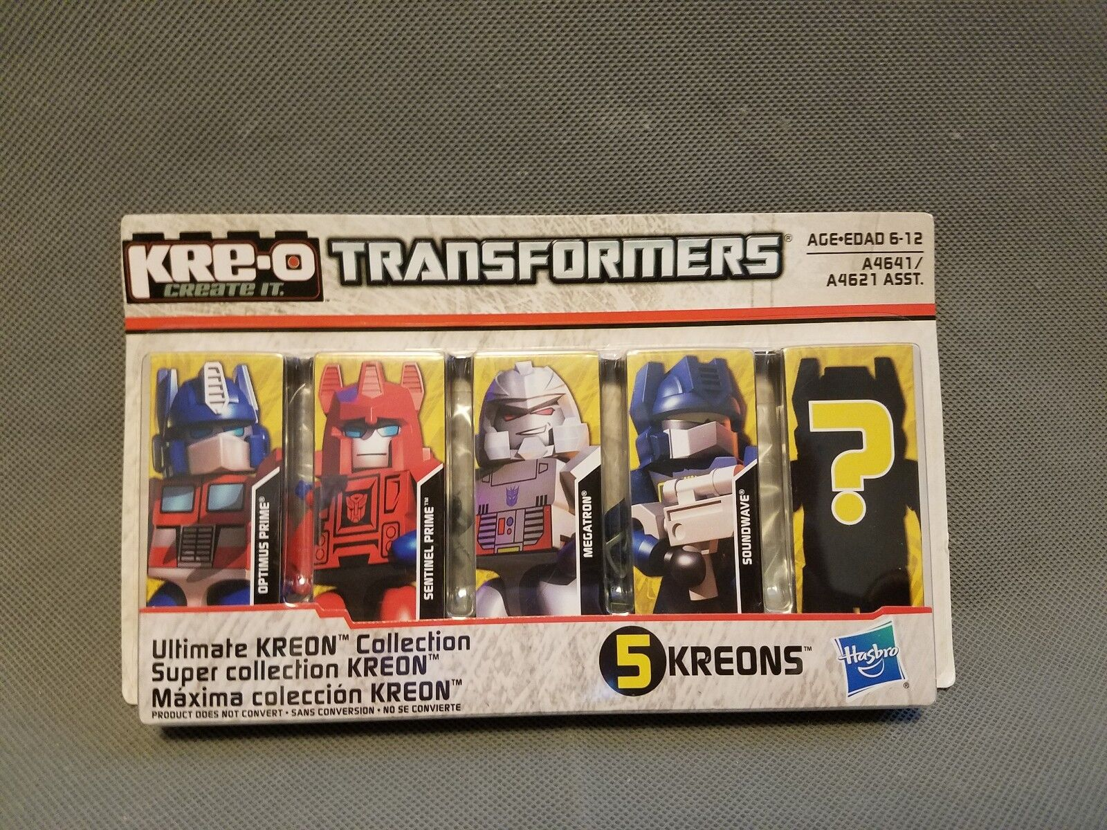 Kre-o transformatoren ultimative kreon sammlung w   w  optimus prime a4641 e3ad63