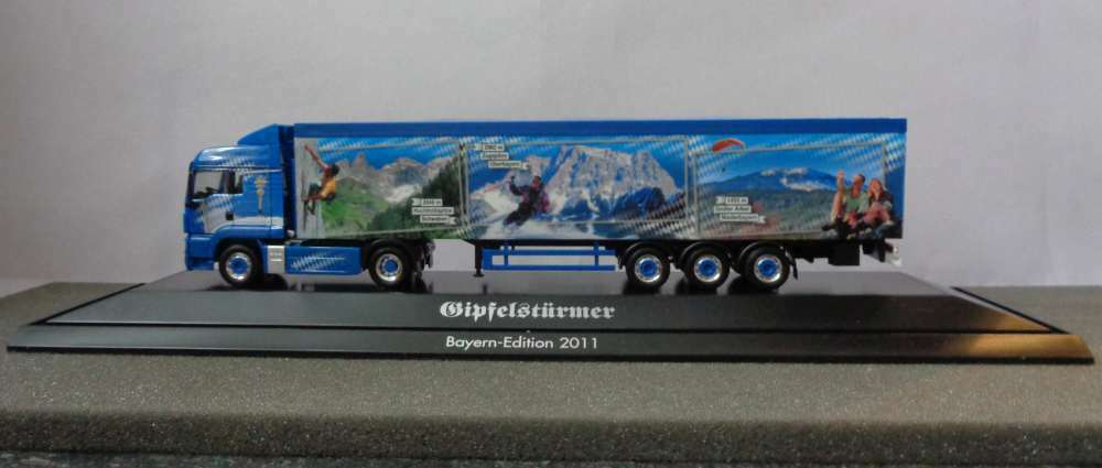 Herpa H0 903851 Bavaria Model 2011 MAN Articulated Lorry NEW & OVP