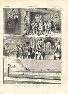 Le-Tunnel-de-la-Manche-Puit-de-Traction-Galerie-Machine-a-Creuser-GRAVURE-1882