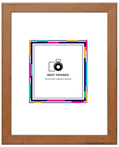 A1 A2 A3 A4 A5 Wood Effect Picture Photo Frames Black White Oak Walnut