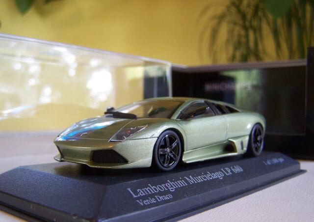 Kyosho Pma 1 43 Lamborghini Murcielago Lp640 2006 Green For Sale