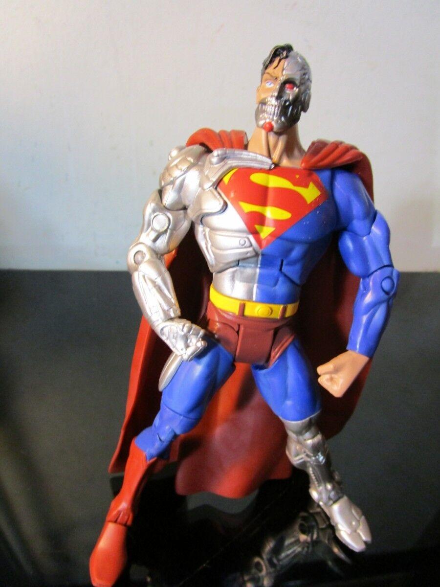 Dc - universum klassiker cyborg superman von super - feinde befreit.