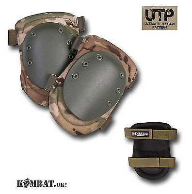 ARMY KNEE PADS UTP MTP MULTICAM CAMO MILITARY PAINTBALL AIRSOFT COMBAT