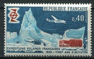 Architecture Topical Stamps Stamp Timbre France Neuf N° 1574 ** Expeditions Polaires Francaises