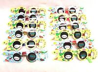 Party Animal Print Kids Child Boy Girl Sunglasses Shades Party Lot Of 12
