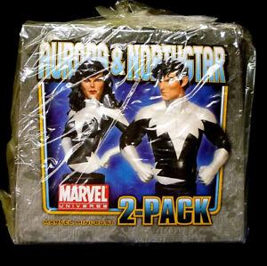 Aurora-and-Northstar-Bust-Statue-Set-New-Bowen-Designs-Alpha-Flight-Marvel-S7